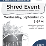 SHRED EVENT IMAGE