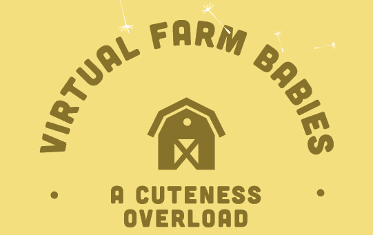 Virtual Farm Babies logo